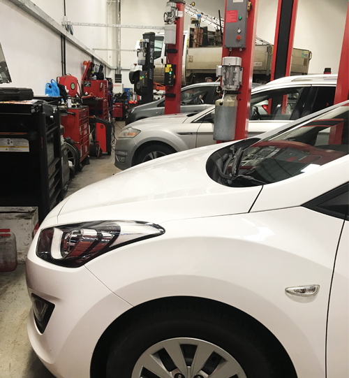 Inside Garage - MOT, Tyres, Servicing & Repairs York